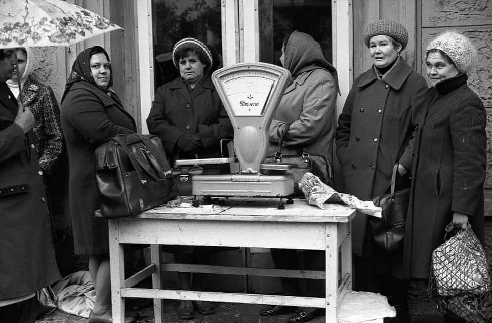 Базар в СРСР