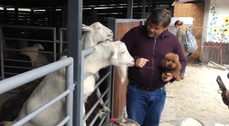 Богдана помітили у київському зоопарку