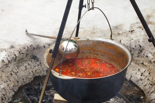 Бограч: рецепт на багатті