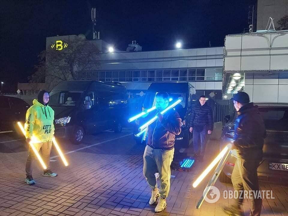 """Усику приготували вітальне шоу в аеропорту """"Бориспіль"""""""