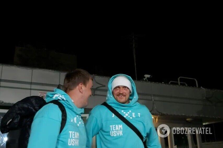 Усика феєрично зустріли в Києві після перемоги над Джошуа. Фото і відео